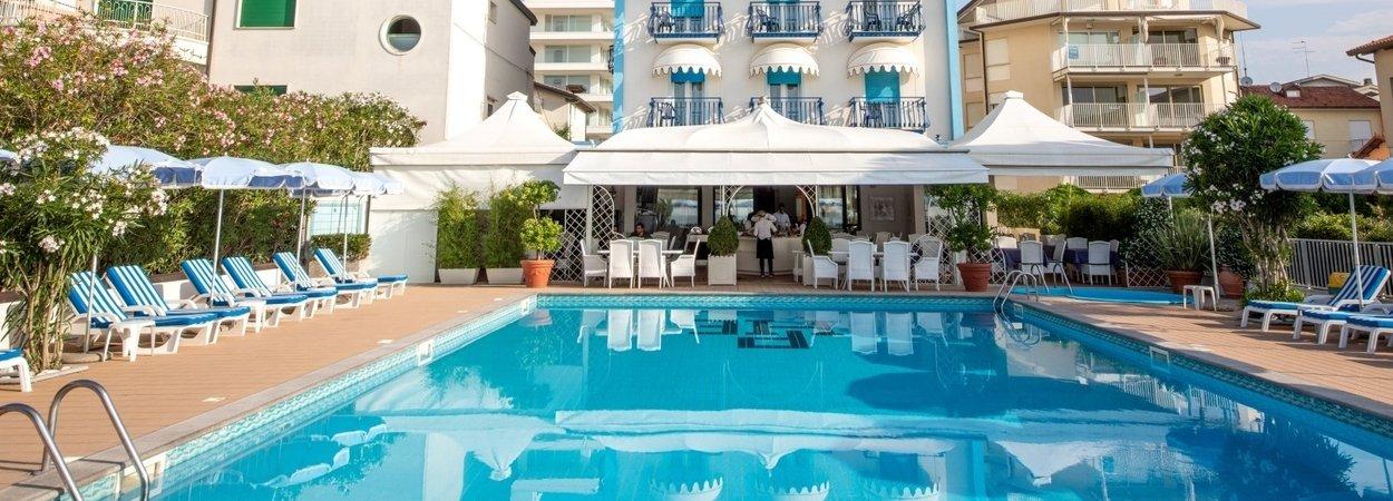 Hotel In Jesolo 3 Sterne Mit Pool Und Privatstrand Hotel Plaza